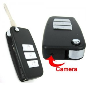 High Definition Car Key Spy Camera Support 4GB Memory + Car DVR